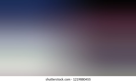 Gradient with Mobster, Violet, Biscay, Blue color. Clean simple defocused backdrop for ads or commercials. Template with changing shades and with place for text.