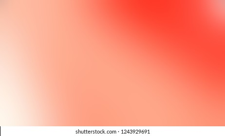 Gradient with Mona Lisa, Pink, Salmon, Red color. Clean defocused background with smooth color transition for mobile app.
