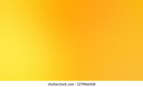 Gradient with Moon Yellow, Gorse color. Bizarre and bitmap blurred background without focus. Template and wallpaper on the desktop computer.