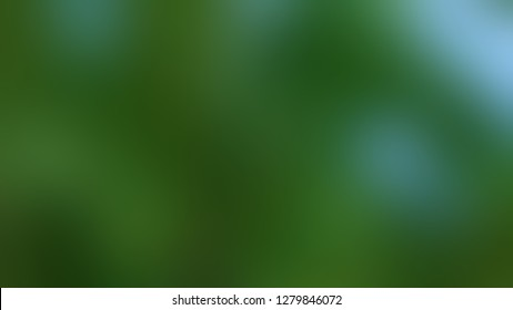 Gradient with Myrtle, Green, Stromboli color. Beautiful raster blurred background with abstract style. Template for newsletter.