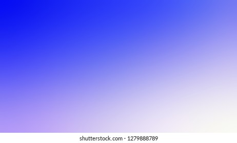 Gradient with Neon Blue, Fog, Violet color. Chaos of color and hue. Background with abstract style. Template and wallpaper on the desktop screen.