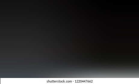 Gradient with Nero, Black, Baltic Sea, Grey color. Awesome and simple modern blurred background with color degradation.