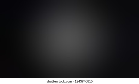 Gradient with Nero, Black color. Beautiful and attractive blurred background with smooth color transition.