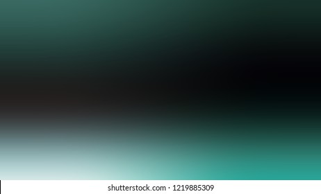 Gradient with Nero, Black, Dark Slate Grey, Green color. Beautiful simple modern blurred background with color degradation.