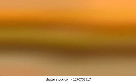 Gradient with Ochre, Brown, Hot Curry color. Phantom abstract background with shades degradation. A modern and blank template for a document. Volume effect with horizontal stripes.