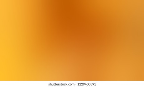Gradient with Ochre, Brown, Supernova, Yellow color. Classic simple modern blurred background with color degradation.