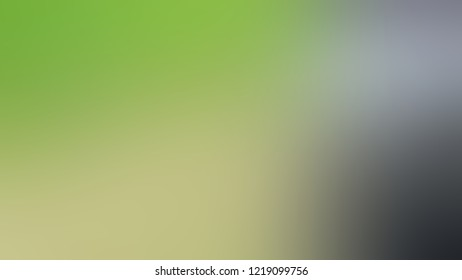 Gradient with Olivine, Green, Rolling Stone, Grey color. Blend and awesome blurred background for web and mobile apps.