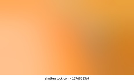 Gradient with Orange, Macaroni And Cheese color. Artistic and decorative blurred background with abstract style. Template for banner or brochure.