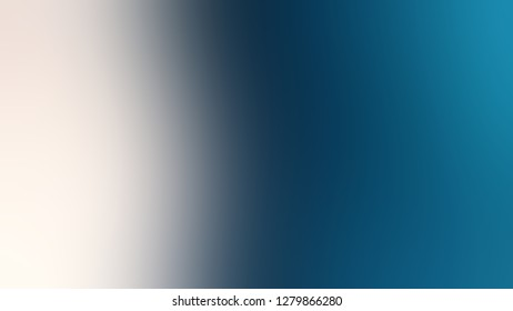 Gradient with Orient, Blue, Bon Jour, Grey color. Attractive and mystical blurred background. Template for magazine or scrapbook cover.