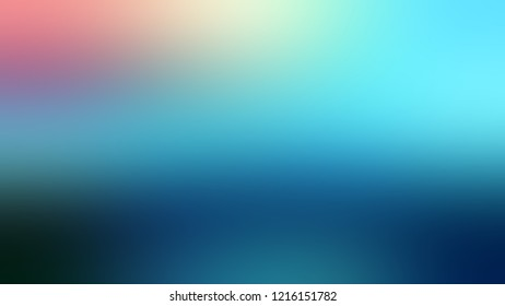 Gradient with Orient, Blue, Glacier color. A simple defocused background for announcement or commercials.