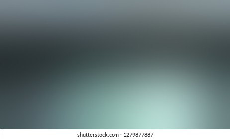 Gradient with Pale Sky, Blue, Sinbad, Green color. Simplicity and purity. Blurred with uniform smooth texture. Template with blank space for text material.