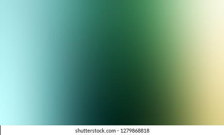 Gradient with Patina, Green, Mint Julep, Brown color. Bizarre and bitmap background with smooth change of colors and shades. Template for the header on the cover of journal or scrapbook.