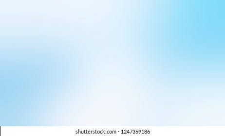 Gradient with Pattens Blue, Light Sky color. Ambiguous and foggy blurred backdrop with smooth color degradation. Mock-up with blank space for text and advertising.