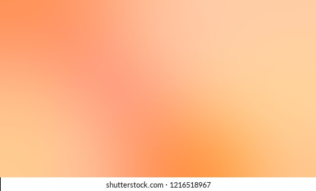 Gradient with Peach-Orange, Orange, Light Salmon color. Beautiful simple blurred backdrop for desktop and mobile phone.