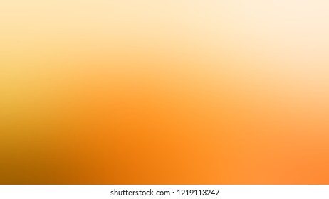 Gradient with Peach-Orange, Orange, Yellow Sea color. Blend and awesome simple modern blurred background with color degradation.
