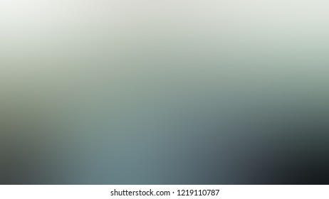 Gradient with Pewter, Green color. Raster simple blurred background for desktop and mobile phone. Template with changing shades and with space for text.