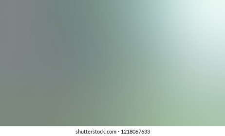 Gradient with Pewter, Green, Jagged Ice color. Raster simple defocused backdrop with color transition.