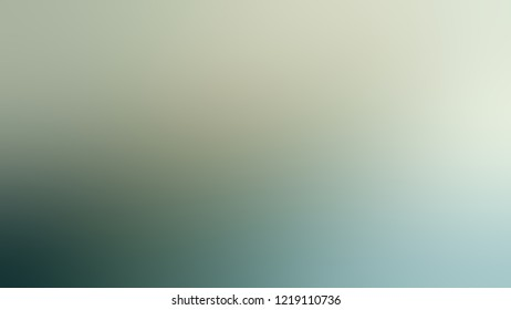 Gradient with Pewter, Green, Ottoman color. Blank and awesome blurred background with smooth color transition.