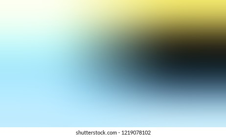 Gradient with Pewter, Green, Pale Turquoise, Blue color. Blend and awesome abstract blurred background with smooth color transition. Minimalism.