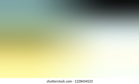 Gradient with Pewter, Green, Promenade, White color. Raster and awesome abstract blurred background with smooth color transition. Minimalism.