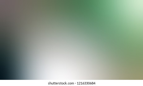 Gradient with Pewter, Green, Spanish color. Modern blurred background as a work of artistic.