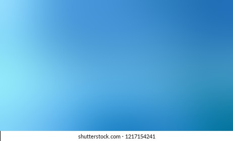 Gradient with Picton Blue, Light Sky color. Modern blurred background as a artwork.
