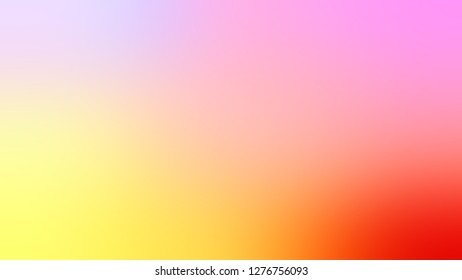 Gradient with Pink, Bittersweet, Orange color. Artistic and decorative background with uniform smooth texture. Template for app or application.