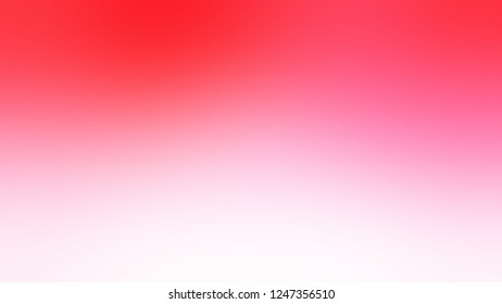 Gradient with Pink Lace, Radical Red color. Ambiguous and foggy blurred background with abstract style. Template for banner or brochure.