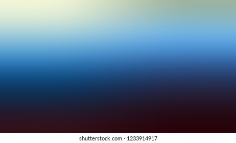 Gradient with Port Gore, Blue, Jet Stream, Green color. Clean modern blurred and defocused background for banner or presentation.