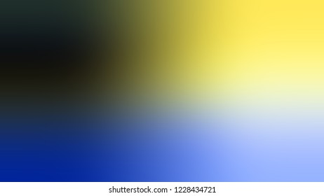 Gradient with Port Gore, Blue, Khaki, Yellow color. Classic and awesome blurred backdrop with smooth color transition.