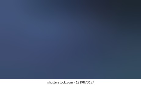 Gradient with Port Gore, Blue, Midnight color. Blank modern blurred and defocused background for banner or presentation.