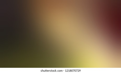 Gradient with Potters Clay, Brown, Mikado color. A simple defocused and blurred background with the transition colors for banner and advertising. Template with changing shades and with space for text.