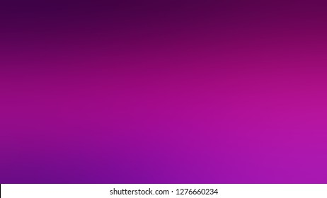 Gradient with Purple, Violet, Dark Magenta color. Ambiguous and foggy blurred background with colorful shades. Template for banner or brochure.
