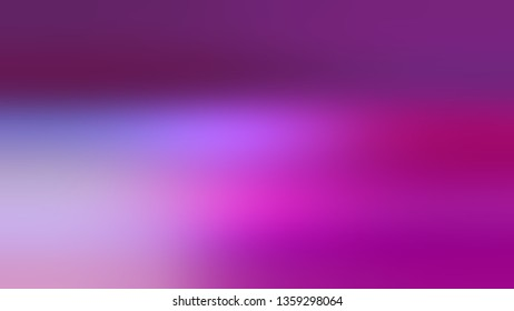 Gradient with Purple, Violet, Medium, Magenta color. Attractive and mystical blurred background with colorful shades. Blank space for text and advertising.