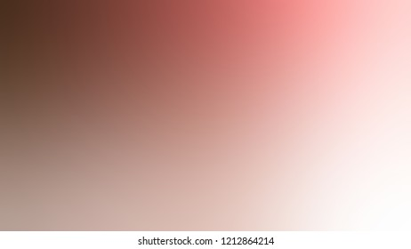 Gradient with Quicksand Brown Brandy Rose Red  color. Modern texture background, degrading fragments, smooth shape transition and changing shade.