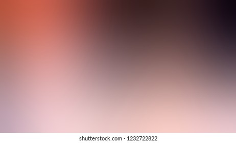 Gradient with Quicksand, Brown, Cab Sav, Red color. Clean modern blurred and defocused background for banner or presentation.