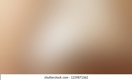 Gradient with Quicksand, Brown color. Raster and appealing blurred background for web and mobile application.