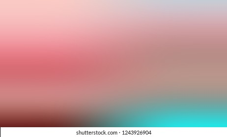 Gradient with Quicksand, Brown, My Pink color. Clean simple defocused background for ads or commercials. Template with changing shades and with place for text.