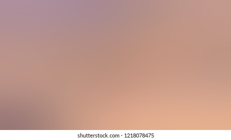 Gradient with Quicksand, Brown, Thatch color. Blank modern blurred and defocused background for banner or presentation.