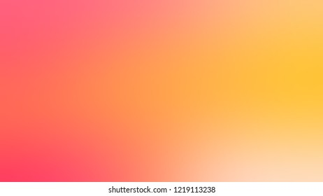 Gradient with Rajah, Orange, Bittersweet color. Classic and awesome abstract blurred background with smooth color transition. Minimalism.