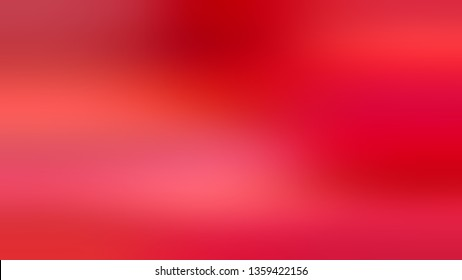 Gradient with Red, Rich Carmine, Pink color. Bizarre and bitmap blurred background without focus. Blank space for text and advertising.