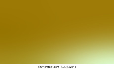Gradient with Reef Gold, Green color. Modern texture background with smooth transition of shades and color degradation.