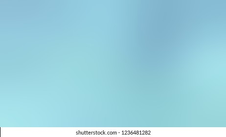 Gradient with Regent St Blue color. Beautiful simple defocused backdrop for ads or commercials.