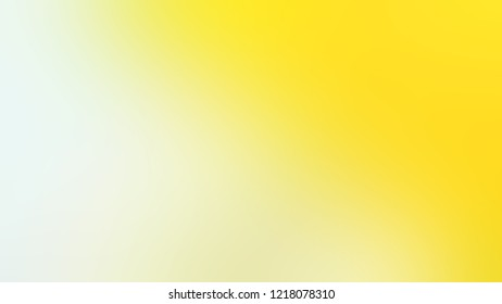 Gradient with Rice Flower, Green, Gorse, Yellow color. Beautiful simple defocused background for ads or commercials. Template with changing shades and with space for text.