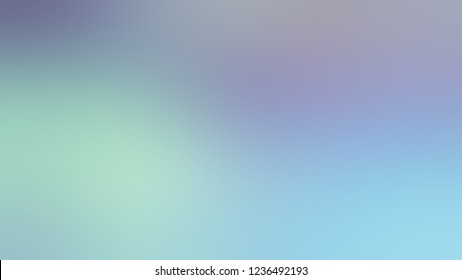 Gradient with Rock Blue, Sinbad, Green color. Classic and awesome blurred background for banner or presentation.