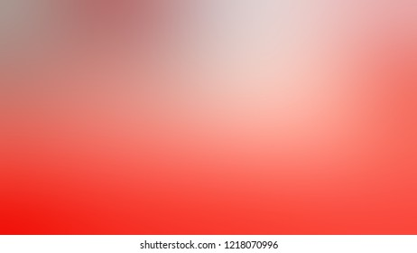 Gradient with Rose, Red, Bittersweet, Orange color. Raster defocused background with smooth color transition for mobile app.