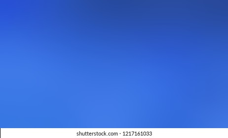 Gradient with Royal Blue color. Beautiful and awesome blurred background with smooth color transition.
