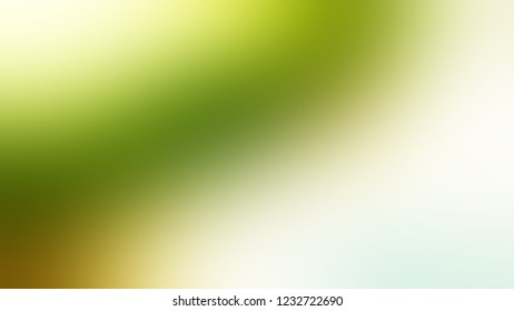 Gradient with Rum Swizzle, White, Wasabi, Green color. Blend simple defocused backdrop for ads or commercials.