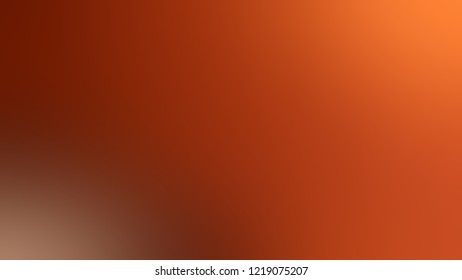 Gradient with Rust, Red, Mandarian Orange color. Classic simple smeared background for websites and mobile application.