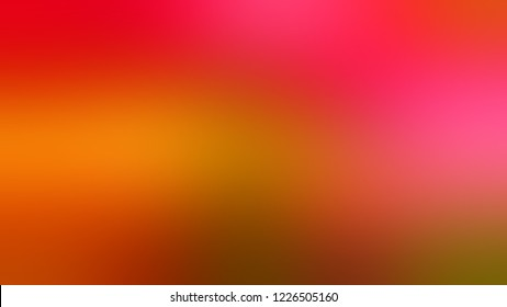 Gradient with Rust, Red, Radical color. Simple defocused background with color transition. Template with changing shades and with place for text.